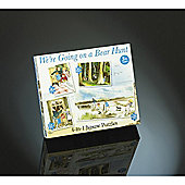 We're Going on a Bear Hunt 4-in-1 Jigsaw Puzzles for 3yrs+