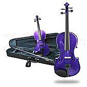Fantasia Violin Outfit - Purple 3/4 Size