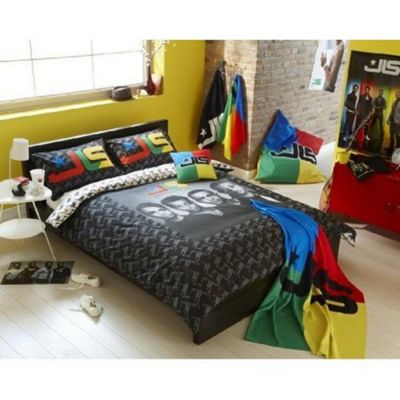JLS Portrait Panel Double Bed Duvet Quilt Cover Set