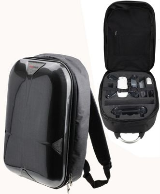 Navitech Rugged Grey Backpack Case For The DJI Spark Drone