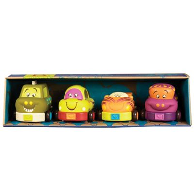 B. Toys Wheeeee-ls Pack Of Four Cars