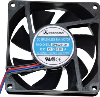 80mm 12V Sleeve Bearing PC CPU Cooling Fan Cooler