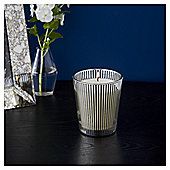Fox & Ivy Silver And Coconut Luxury Scented Filled  Candle