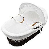Kinder Valley White Waffle Wicker Basket