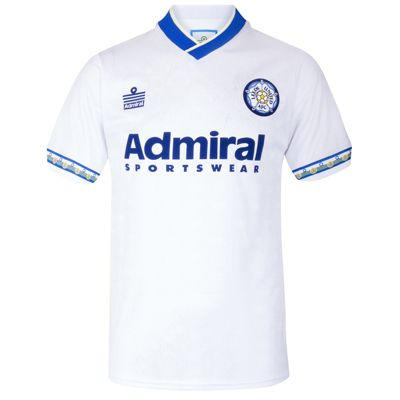 Leeds United AFC Mens 1993 Home Shirt Small
