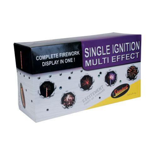 Single Ignition 117 Shot Firework