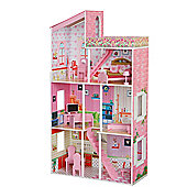 Plum Tillington Children's Wooden Dolls House with Accessories