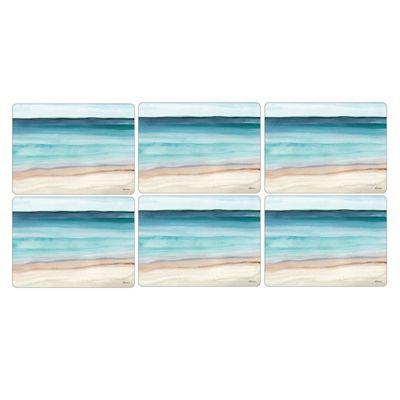 Pimpernel Coastal Shore Placemats, Set of 6