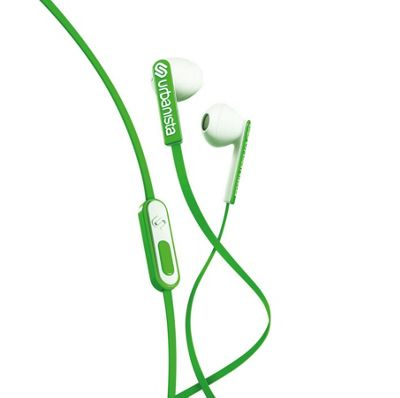 Urbanista San Francisco Earphones│Multi Color│For Android iOS Windows│Green