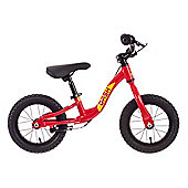 "Raleigh Dash 12"" Wheel Kids Balance Bike Red"