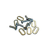 LOOK KEO Cleat Screws & Washers Extra Long 20mm (6 pcs of each)