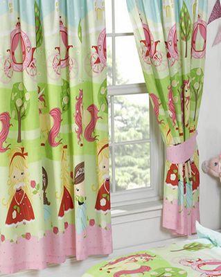 Disney Princess Ring Top Curtains