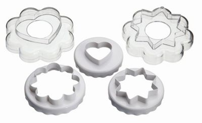 KitchenCraft Five Piece Cookie Cutter Nest
