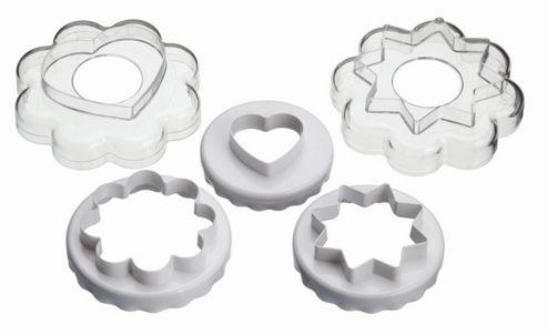 KitchenCraft Five Piece Cookie Cutter Nest
