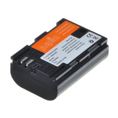 Jupio Replacement Barrtery for Canon LP-E6 Cameras