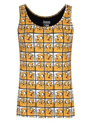 Adventure Time Jake All Over Print Women's AT Vest