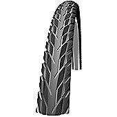Schwalbe Silento Kevlar Guard SBC Compound Rigid Tyre in Black/Reflex - 700 x 40mm