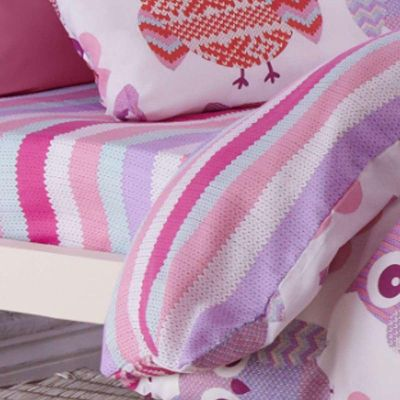 Catherine Lansfield Home Kids Owl Fitted Sheet - Single