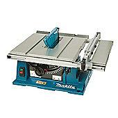 Makita 2704X Table Saw Machine & 194093-8 Wheeled Stand 1650 Watt 240 Volt