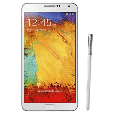 Samsung Galaxy Note 3 Classic White