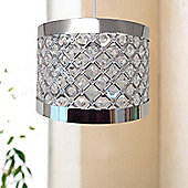Moda Light Shade Fitting - Silver