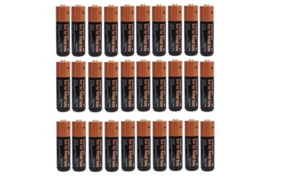 30 x Duracell AA Alkaline Batteries Plus OEM Bulk CopperTop LR6, MX1500, MN1500