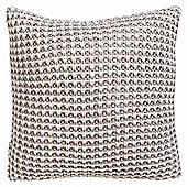 Gallery Fisherman s Knit Cushion - Natural