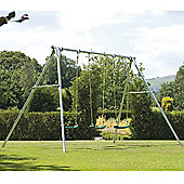 TP Triple Giant Swing Frame & 3 Deluxe Seats