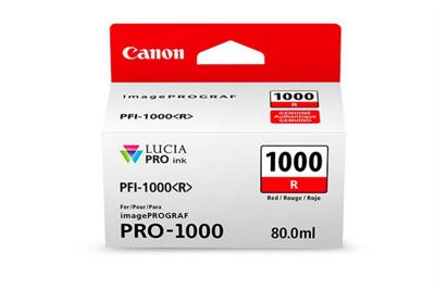 Canon Printer ink cartridge for imagePROGRAF PRO-1000 - Red
