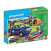 Playmobil Wildlife - Camping Adventure