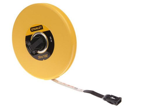 Stanley C/Case F/GLass Tape 30M/100Ft 0 34 262
