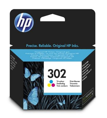 HP 302 Tri-color Original Printer Ink Cartridge