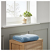 Fox & Ivy Egyptian Cotton Bathroom Textiles - Chambray blue