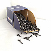 3.5mm x 25mm Drywall Screws - Bugle Head Black Phosphate Screws (Pack of 10)