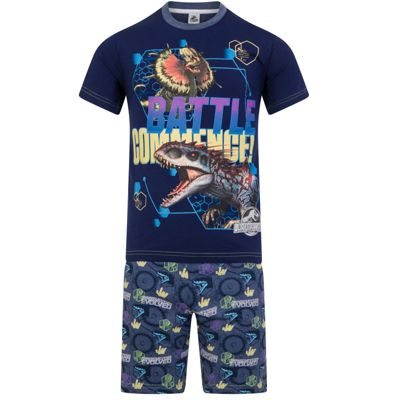 Jurassic World Boys Short Pyjamas 5-6 Years