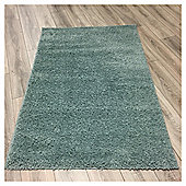 Ultimate Retro Shaggy Rug Duck Egg - 100x150cm
