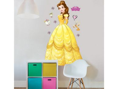 Walltastic Disney Princess Belle 4ft Large Character Sticker
