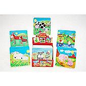 Traditional Wood 'n' Fun Farm Puzzle - Cow - Ackerman Toys 3yr+