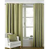 Riva Home Atlantic Eyelet Curtains - Green