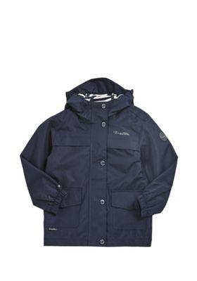 Regatta Betulia Waterproof Hooded Jacket Navy 11-12 years