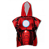 Character Marvel Hero 'Iron Man' 100% Cotton Poncho