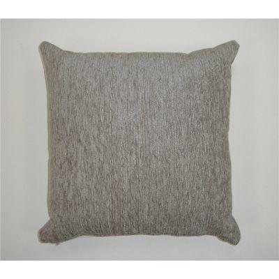 Rapport Plain Chenille Cushion Cover - Silver