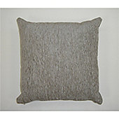 Rapport Plain Chenille Cushion Cover - Silver