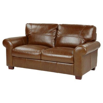 Ledbury Medium 2.5 Seater Leather Sofa, Tan