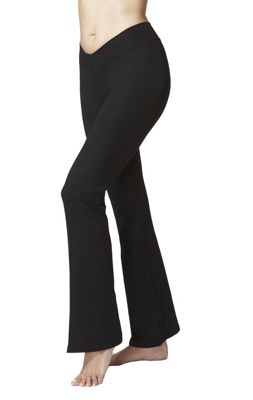 Women's Flattering V Waist Yoga Bootcut Bottoms Short Length 29