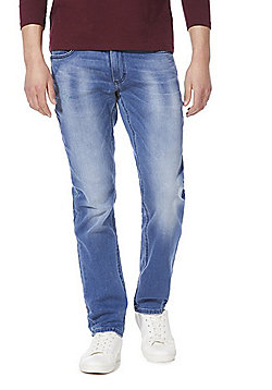 F&F Slim Stretch Jeans - Mid wash
