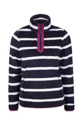 Mountain Warehouse Nessy Stripe Womens Fleece ( Size: 10 )