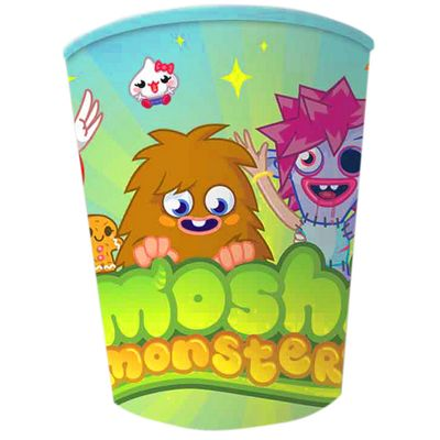 Discontinued - Moshi Monsters Party Paper Cups 260ml