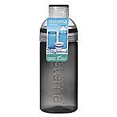 Sistema Trio Drink Bottle 580ml, Black
