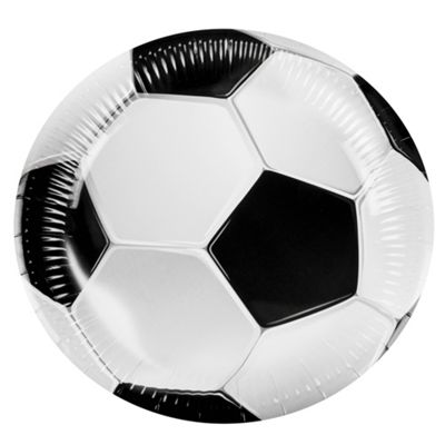 Boland Football Paper Plates World Cup Party Celebration Tableware 6 Pack  sc 1 st  Tesco & Buy Boland Football Paper Plates World Cup Party Celebration ...